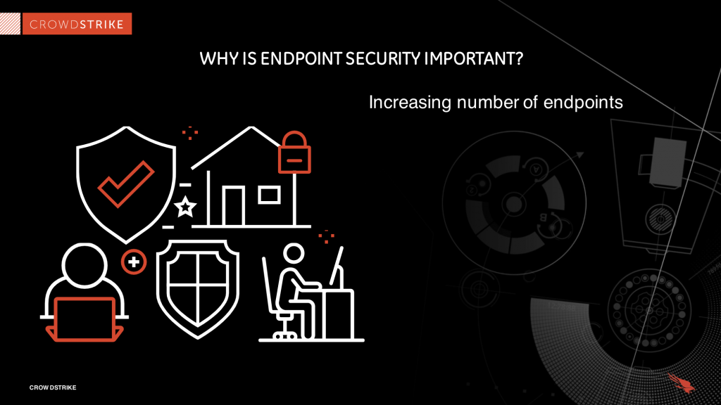 increasing number of endpoints graphic